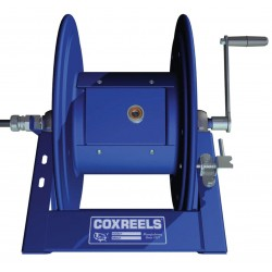 Coxreels / Coxwells - 1125PCL-8M-C - 600VAC Industrial Hand Wind Cord Reel; Number of Outlets: 0, Cord Included: No