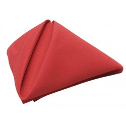 Phoenix Textile Industries - NO1818-RD - 18 x 18 Square Visa Napkin, Red; PK12