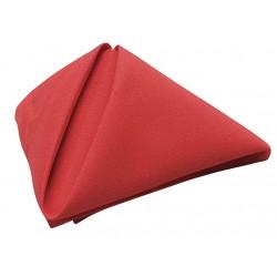Phoenix Textile Industries - NO2020-RD - 20 x 20 Square Visa Napkin, Red; PK12