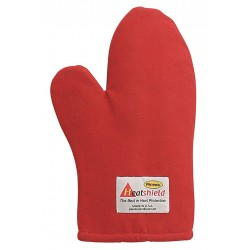 Phoenix Textile Industries - RHTMC-13 - 13 Nomex Oven Mitt, Conventional, Red