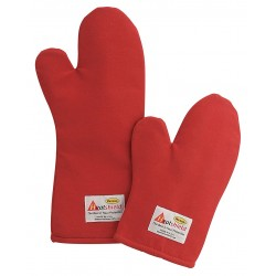 Phoenix Textile Industries - RHTMC-18 - 17 Nomex Oven Mitt, Conventional, Red
