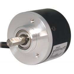 Autonics - E40S6-100-3-T-24-C - Totem Pole Output Type, Encoder, Shaft, Shaft Dia., 100 Pulses per Revolution