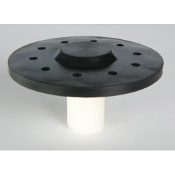 Atlantic Diffusers - AB-70001 - Polypropylene Diffuser, Type: Medium Bubble Cap, 3 Dia., Ideal For Water Aeration/Oxygenation