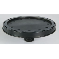 Atlantic Diffusers - AB-70004 - Polypropylene Diffuser, Type: Medium Bubble Disc, 5 Dia., Ideal For Water Aeration/Oxygenation