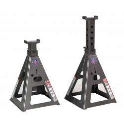 Gray - 10TF STANDS - 14 x 14 Pin Style Vehicle Stands; Lifting Capacity (Tons): 20