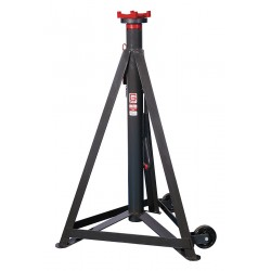 Gray - 9THR STAND - 33 x 33 Pin Style Vehicle Stands; Lifting Capacity (Tons): 9