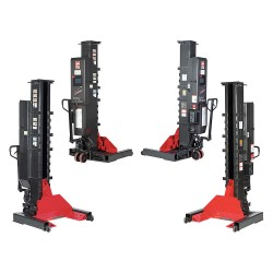 Gray - WPLS-185W (4) - Wireless Lifting System, 36 Tons, 4 Set