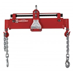 Gray - LL-6000 - 3-3/4 ft. Painted Steel Engine Load Leveling Sling with Leveling Bar w/Hooks Sling Type