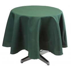 Phoenix Textile Industries - TO72R-FO - Round Visa Tablecloth, Forest Green; PK1