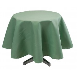 Phoenix Textile Industries - TO72R-SEAFOAMGR - Round Visa Tablecloth, Seafoam Green; PK1