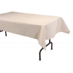 Phoenix Textile Industries - TO5270-BE - 70 x 52 Rectangle Visa Tablecloth, Beige; PK1