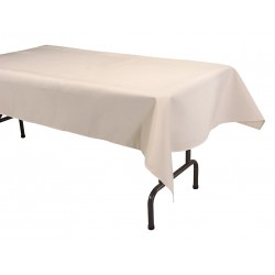 Phoenix Textile Industries - TO5296-BE - 96 x 52 Rectangle Visa Tablecloth, Beige; PK1