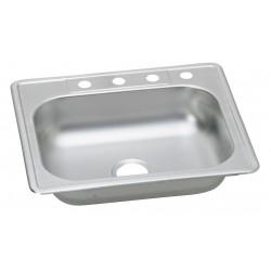 Elkay - K125224 - 25 x 22 x 6-1/16 Drop-In Sink with 21 x 15-3/4 x 6D Bowl Size