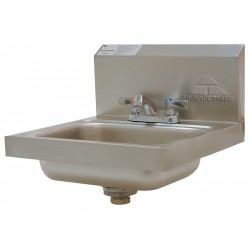 Advance Tabco - 7-PS-20 - Stainless Steel Hand Sink, With Faucet, Wall Mounting Type, Silver