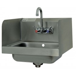 Advance Tabco - 7-PS-66 - Stainless Steel Hand Sink, With Faucet, Wall Mounting Type, Silver