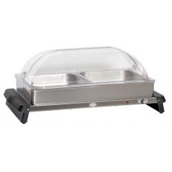 Cadco - WTBS-2RT - Buffet Server, w/ Rolltop Lids, 2 Pans