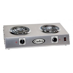 Cadco - CDR-1T - 12-1/4 x 21-1/4 x 4-1/4 1650 Watts Hot Plate