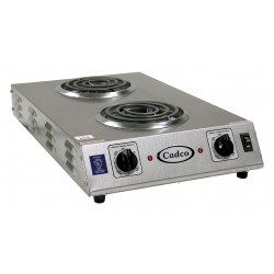 Cadco - CDR-1TFB - 22-3/4 x 13-1/2 x 4-1/2 1650 Watts Hot Plate