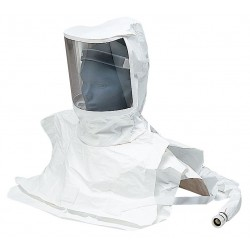 Allegro - 9911-10 - Replacement Dbl Bib Fully Disposable Tyvek Hood