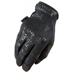 MechanixWear - MG-F55-009 - Mechanix Wear Medium Black The Original Full Finger Synthetic Leather Mechanics Gloves With Hook And Loop Cuff, Spandex Padded Back, Reinforced Fingertips And Thumb