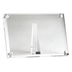TableCraft - A362 - Card Holder, Rectangle, Clear Acrylic, 1 EA