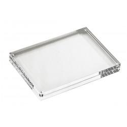 TableCraft - ACH57 - Card Holder, Rectangle, Clear Acrylic, 1 EA