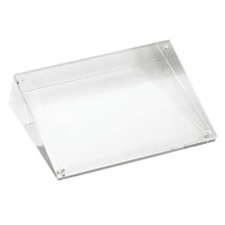 TableCraft - ACHS46 - Card Holder, Slanted, Clear Acrylic, 1 EA