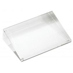 TableCraft - ACHS57 - Card Holder, Slanted, Clear Acrylic, 1 EA