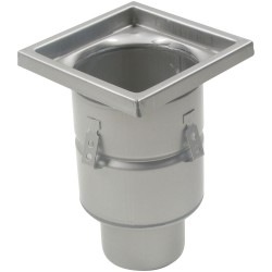 Blucher - BFD-314 - 304 Stainless Steel Floor Drain With 8 Square Top