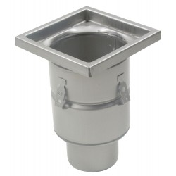 Blucher - BFD-336 - 304 Stainless Steel Floor Drain With 12 Square Top