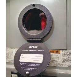 FLIR Systems - IRW-3C - Infrared (IR) Window, PIRma-Lock, Anodized Aluminum, 69 mm, IP67, NEMA 2, 4