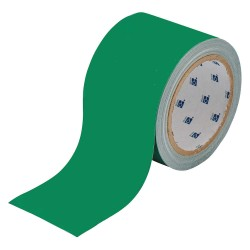 Brady - 104315 - Brady 2' X 100' Green 2 mil Polyester ToughStripe Retroreflective Sheeting Marking Tape, ( Roll )