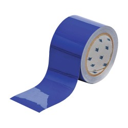 """Brady - 104344 - Floor Marking Tape, Solid, Continuous Roll, 3"""" Width, 1 EA"""