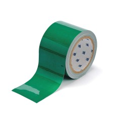 Brady - 104345 - Floor Marking Tape, Solid, Continuous Roll, 3 Width, 1 EA