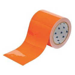 Brady - 104346 - Floor Marking Tape, Solid, Continuous Roll, 3 Width, 1 EA