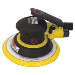 Chicago Pneumatic - CP7255SV - Air Random Orbital Sander with 6 Pad Size, Vacuum, 3/16 Orbit Dia.
