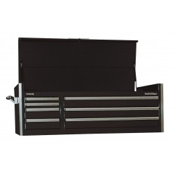 Kennedy 60000bk black top chest 60 width x 24 depth for 12 inch depth dresser