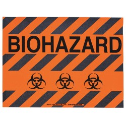 Brady - 104506 - Floor Marking Sign, Message, Rectangle, 14 Width, 1 EA
