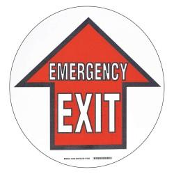 Brady - 104495 - Floor Marking Sign, Message, Circle, 2 Width, 1 EA
