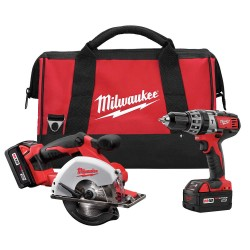 Milwaukee Electric Tool - 2698-22 - 18 V M18[TM] Lithium Ion Cordless Hammer Drill & Metal Saw Combo Kit