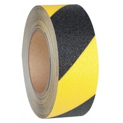 Jessup - 4100-2X54-BY-RL - 54 ft. x 2 Vinyl Antislip Tape, Black/Yellow
