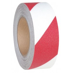 Jessup - 4100-2X54-R-RL - 54 ft. x 2 Vinyl Antislip Tape, Red/White