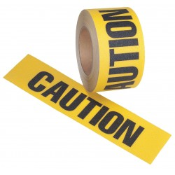 Jessup - 4100-3X54-CAUTION-RL - 54 ft. x 3 Vinyl Antislip Tape, Yellow