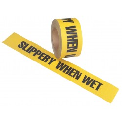 Jessup - 4100-3X54-SLIPPERY-RL - 54 ft. x 3 Vinyl Antislip Tape, Black/Yellow
