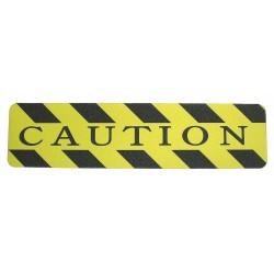 Wooster - CAU0624 - 2 ft. x 6 Polyurethane Antislip Tape, Black/Yellow