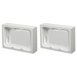 Polar Tech - HAZ1030 - Foam Insert, 5-11/16 Length, 8-3/16 Width, 1 Height
