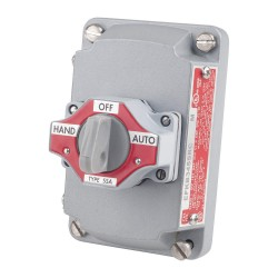 Appleton Electric - EFKB-345-SRC - Selector Switch Assembly with Cover, 3-Position Selector Switch, 4 Circuit Contact Form