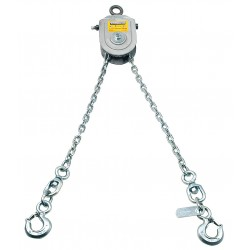 Hein-Werner / SFA - HW93801 - 5-1/2 ft. Painted Steel Load Leveling Sling with Leveling Pulley w/Hooks Sling Type