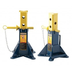 Hein-Werner / SFA - HW93526F - 10 x 10 Pin Style Vehicle Support Stand; Lifting Capacity (Tons): 25