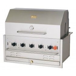 Crown Verity - BI-36 NG - 79500 BtuH Natural Gas Stainless Steel Built-In Grill